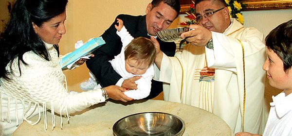 ritual para bautizo de agua