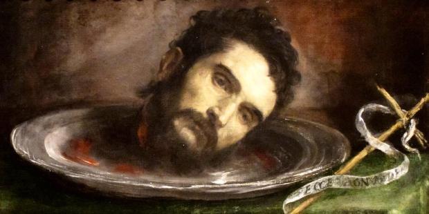la cabeza de Juan Bautista