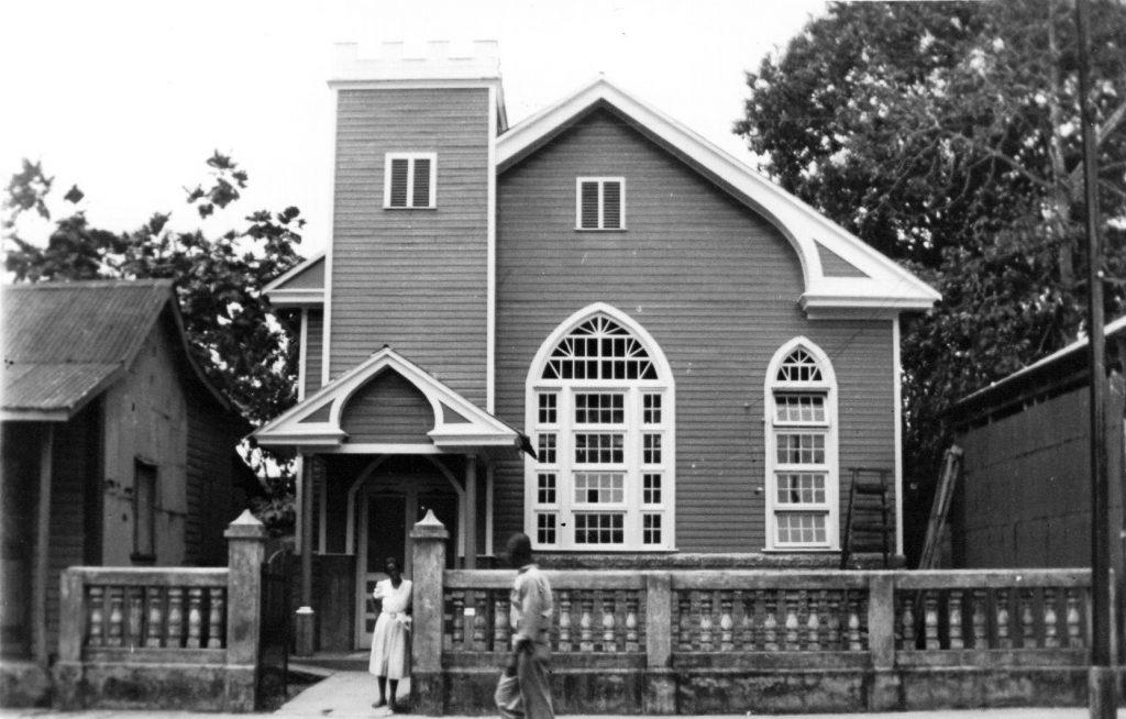 Un vistazo a una iglesia bautista antigua