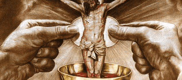 Oración la sangre de cristo tiene poder