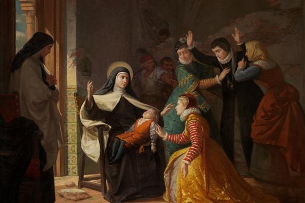 Milagros de santa teresita