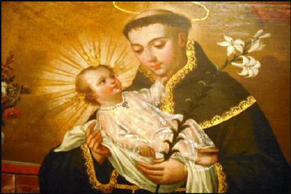 Novenario a san Antonio de Padua
