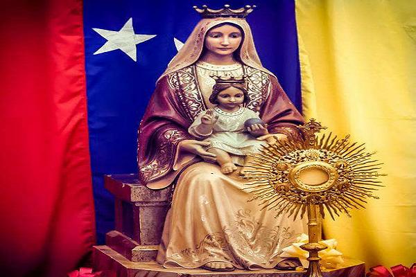 ¿Dónde se celebra la fiesta de la Virgen de Coromoto?