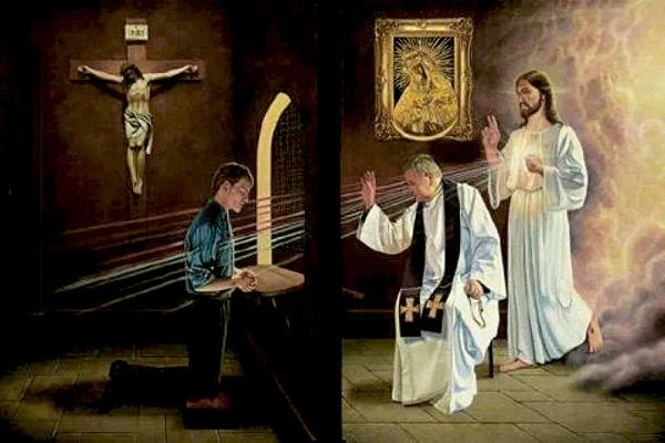 Penitencia sacramento pasos