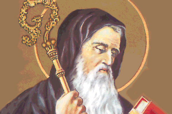 Frase de san Benito de Nursia