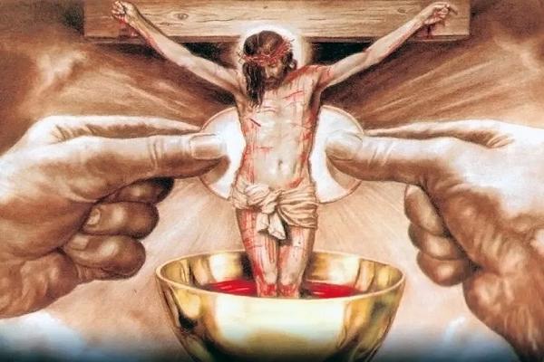 Quien instituyó el sacramento de la eucaristía