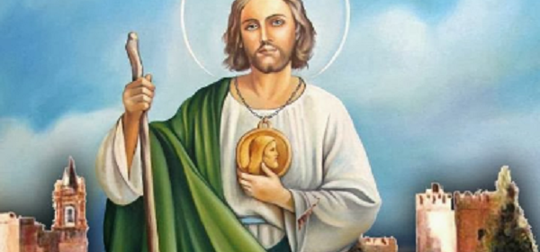 Oración para san Judas Tadeo para la buena suerte